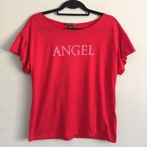 • ➳ Victoria Secret Angel Frill Lounge Sleep Top